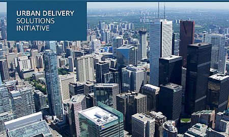 Urban delivery solutions banner
