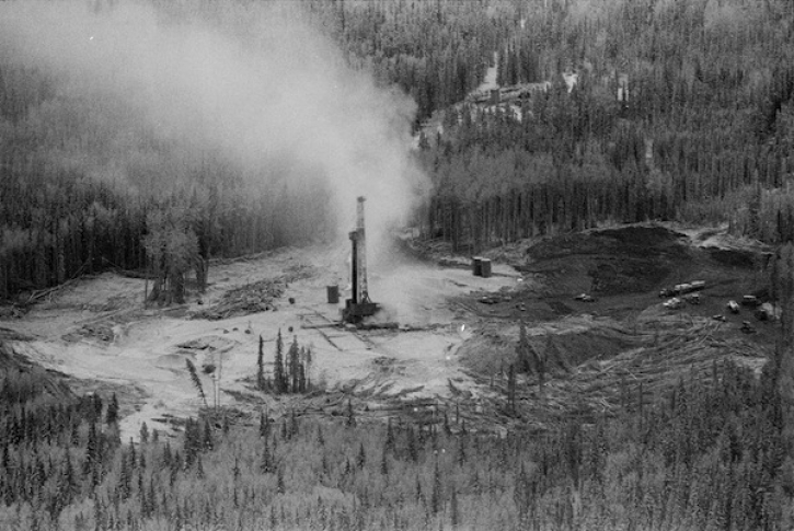 * Lodgepole gas blowout 1982