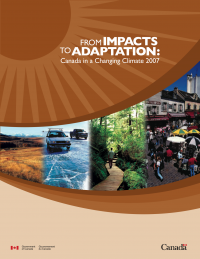 Cover of federal report: From Impacts to Adaptation