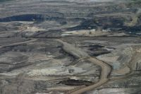 The Royal Society report echoes Pembina's concern that the province isn't banking enough insurance to pay the cost of oilsands cleanup if companies declare bankruptcy. Photo: David Dodge, Pembina Insittute.
