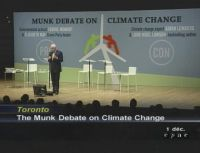 The Munk Debate on Climate Change in Toronto