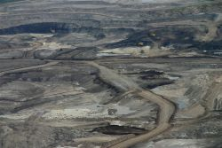 Based on the criteria for secure energy sources, the oilsands fail the test on both environmental impacts and costs of development. Photo: David Dodge, the Pembina Insitute.
