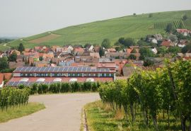Solar on vineyard towns in Germany