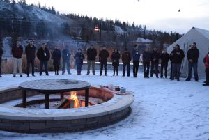 RiRC 2017 started with the lighting of a sacred fire.