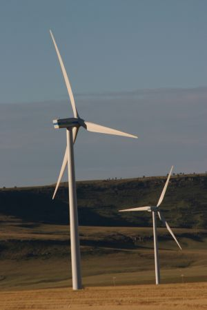 Wind energy can be managed at variable wind speeds.