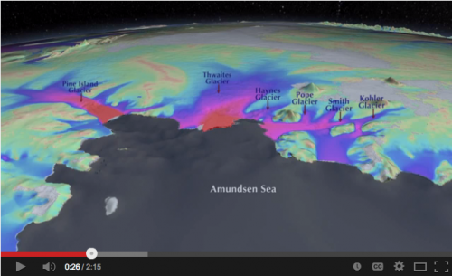 YouTube video by NASA explaining the decline in Antarctic sea ice