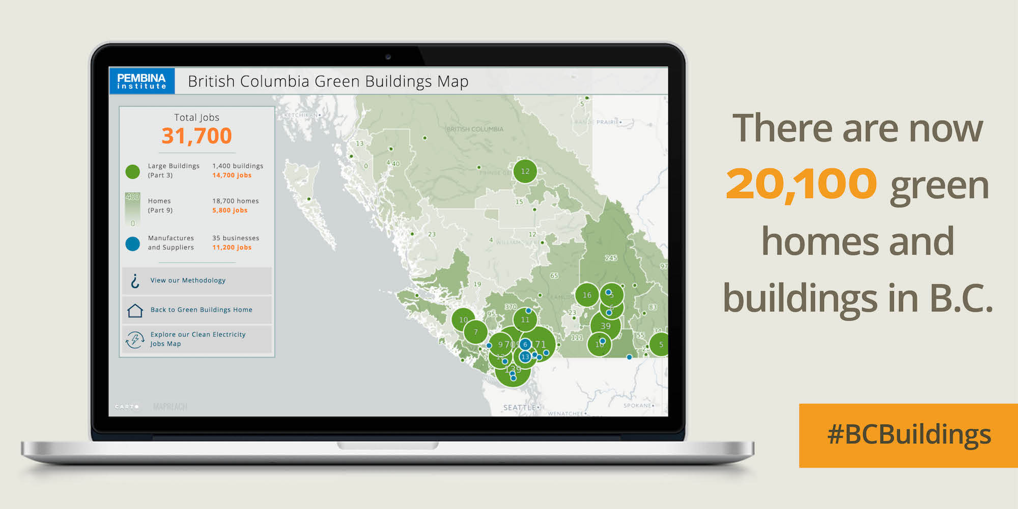 B.C. Green Buildings Map