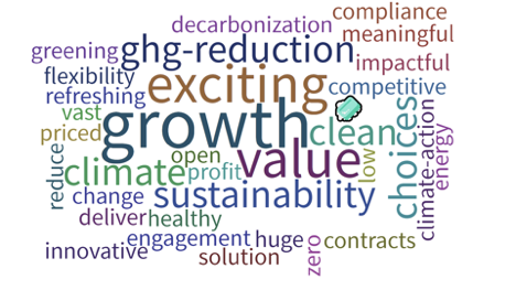 BRC Canada attendees asked what they thought of renewable opportunities in Alberta.