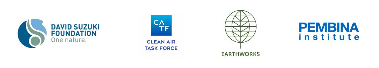 Earthworks, Pembina Institute, Clean Air Task Force, and David Suzuki Foundation