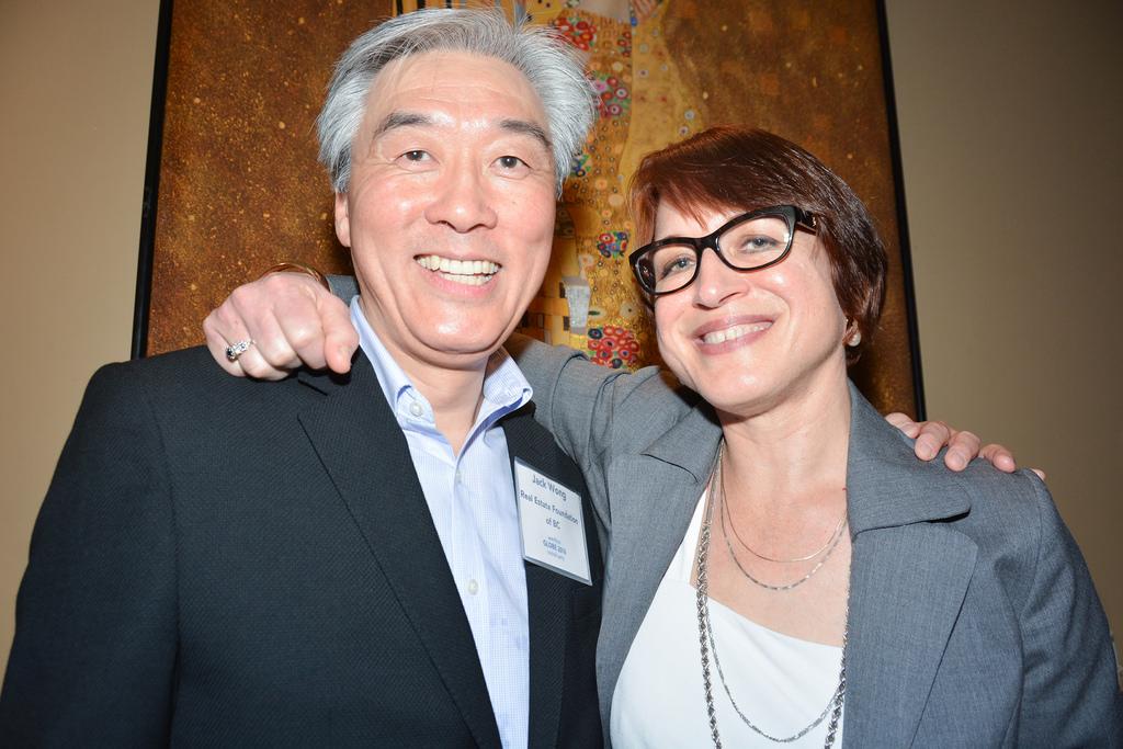 Jack Wong and Anna Warwick Sears