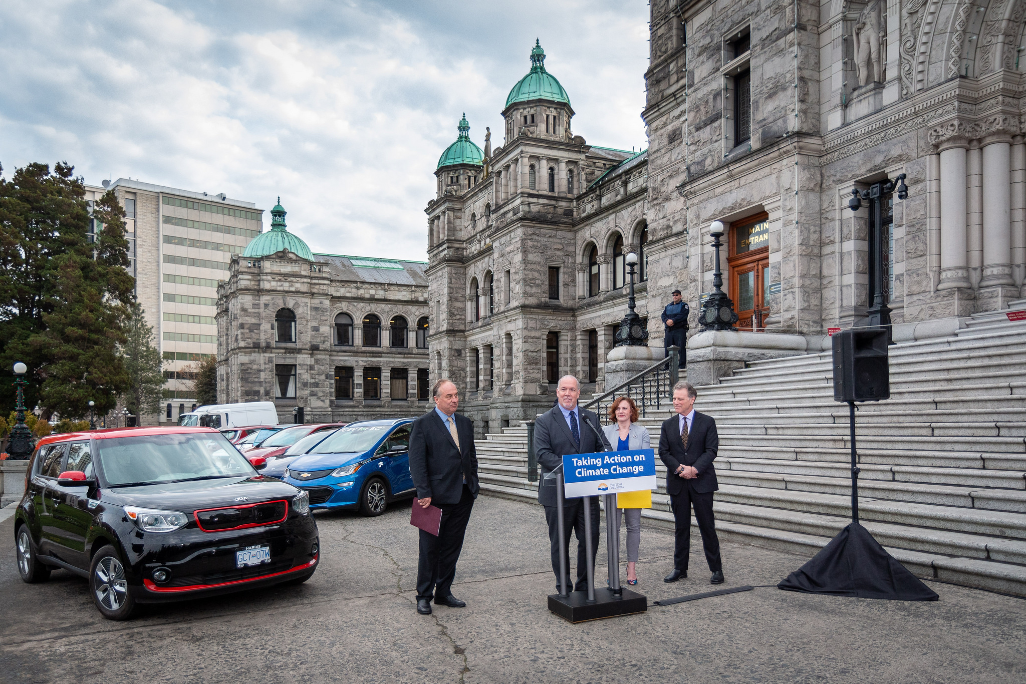 * B.C. is targeting 100 per cent zero-emission vehicle sales by 2040. Photo: Province of B.C.