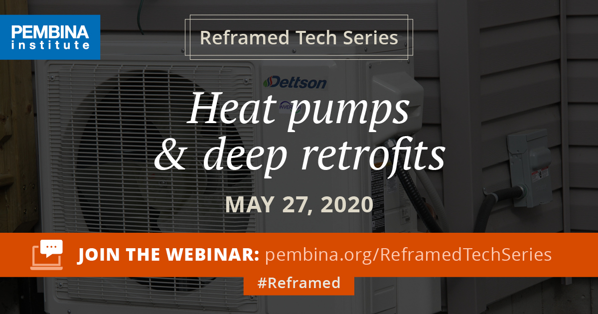 Heat pumps webinar