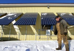 The Starland Country Community Solar Program provides electricity to farmers in Alberta