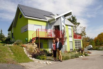 * Dave Spencer and Debbie Wiltshire wanted to develop a green community in Calgary and started the process more than 20 years ago. The concept turns traditional suburban neighbourhoods on their ear.