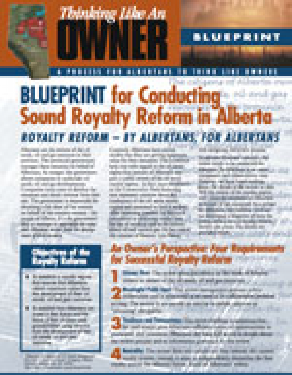 Blueprint for conducting sound royalty reform in alberta blueprint for conducting sound royalty reform in alberta publications pembina institute malvernweather Choice Image