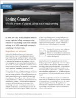 Cover of Losing Ground fact sheet.