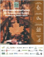 Cover of Green Budget Coalition recommendations