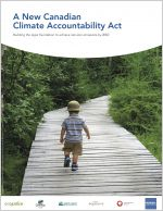 A New Canadian Climate Accountability Act report cover