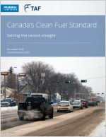 Cover to Clean Fuel Standard: setting the record straight