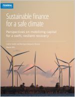 Cover of Sustainable finance for a safe climate