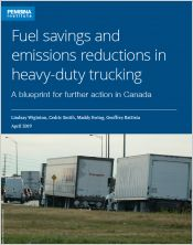 report: fuel savings and emissions reductions in heavy-duty trucking