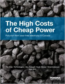 High Costs of Cheap Power - Report cover