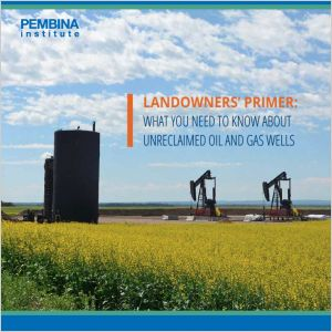 Cover of Landowners Primer - unreclaimed oil and gas wells