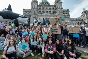 Victoria students strike for action on climate change