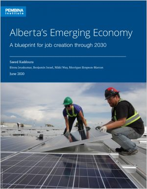 Report cover showing two solar panel installers