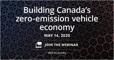 banner for Building Canada's zero-emission vehicle economy