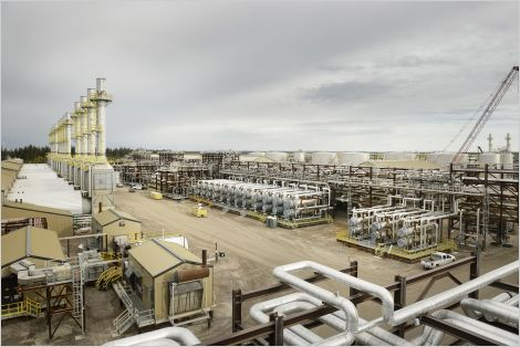 Cenovus Energy's SAGD project