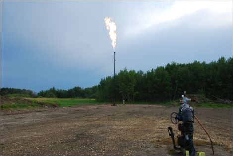 Methane emissions source