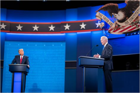 The final presidential debate of the 2020 U.S. election