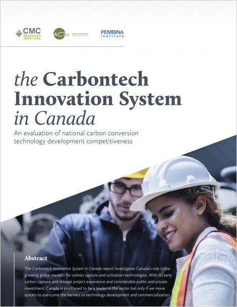 Cover of Carbontech Innovation System report