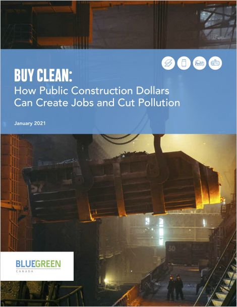 Cover of Buy Clean report