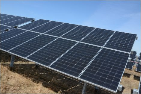 Grid-tied solar installation