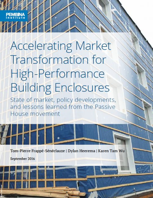 Accelerating Market Transformation for High-Performance Building Enclosures