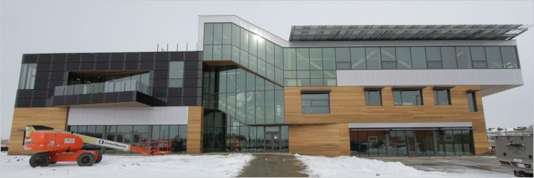 Welcome To The Mosaic Centre Canadas Biggest Net Zero
