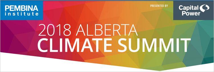 2018 Alberta Climate Summit Events Pembina Institute