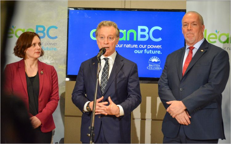 CleanBC plan release