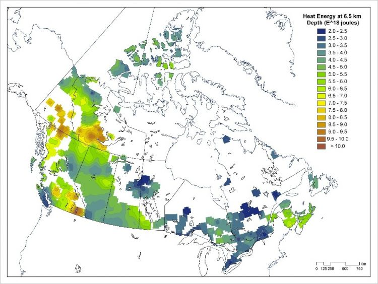 Canada Geothermal Map Geothermal Energy: A no brainer for Canada? | Blog Posts | Pembina